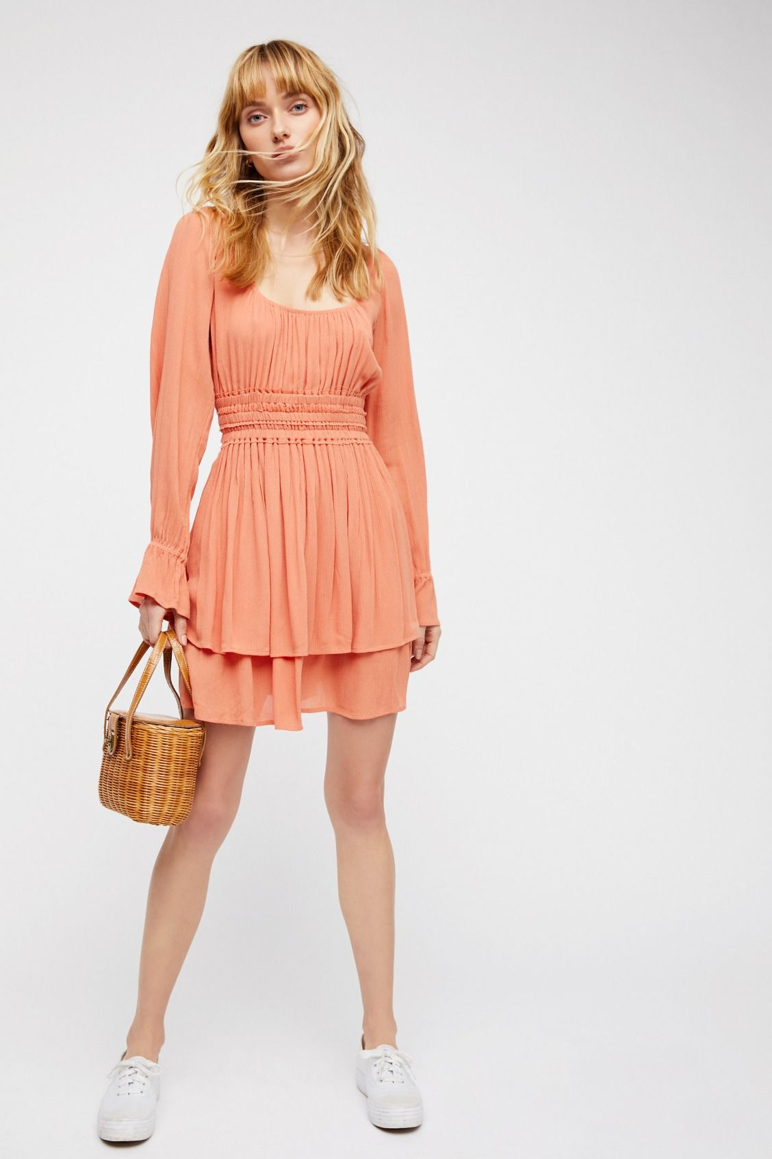 b9ab77fe51a Endless Summer Canyon Rose Much Ado Mini Dress at Free People Clothing  Boutique