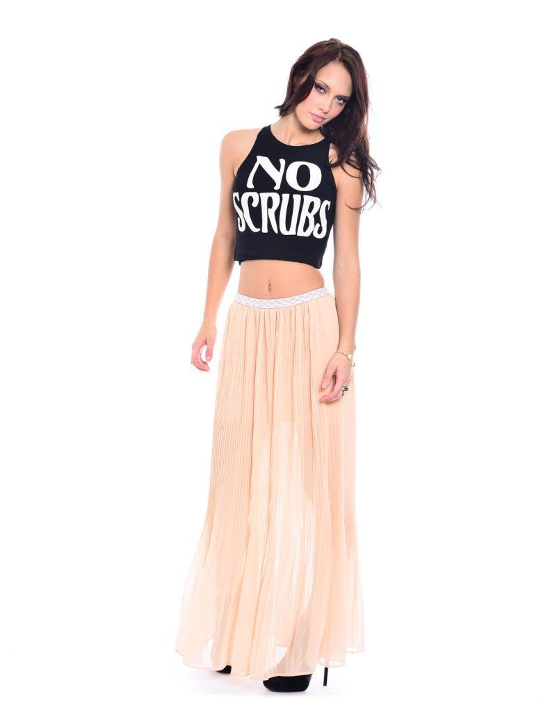 ad9678861f2 No Scrubs Crop Top | DAZEY Clothing | Skirt set, Two piece skirt set ...