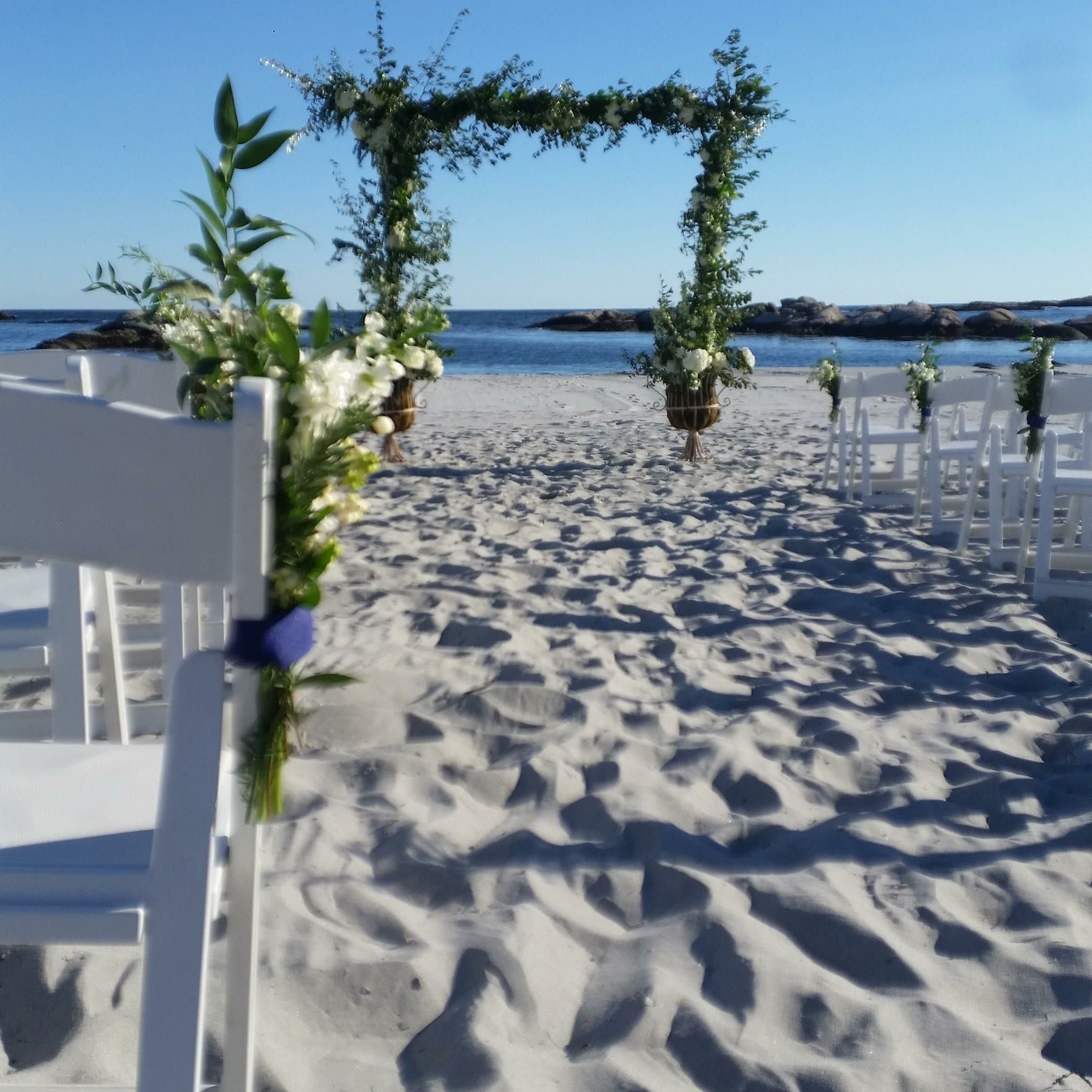 Gooseberry Beach Wedding By Sayles Livingston Design Planning A
