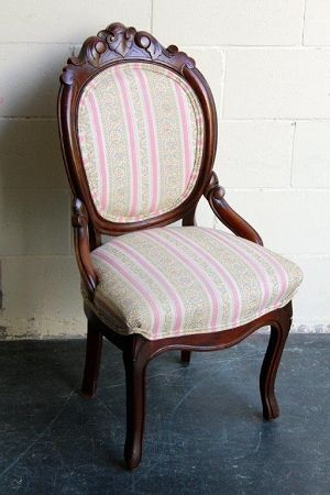 Rosewood Victorian Occasional Chair
