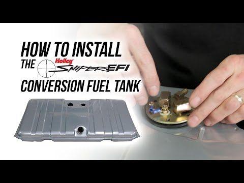 Sniper Efi Fuel Tank System Installation Fuel Cell Gas Tanks