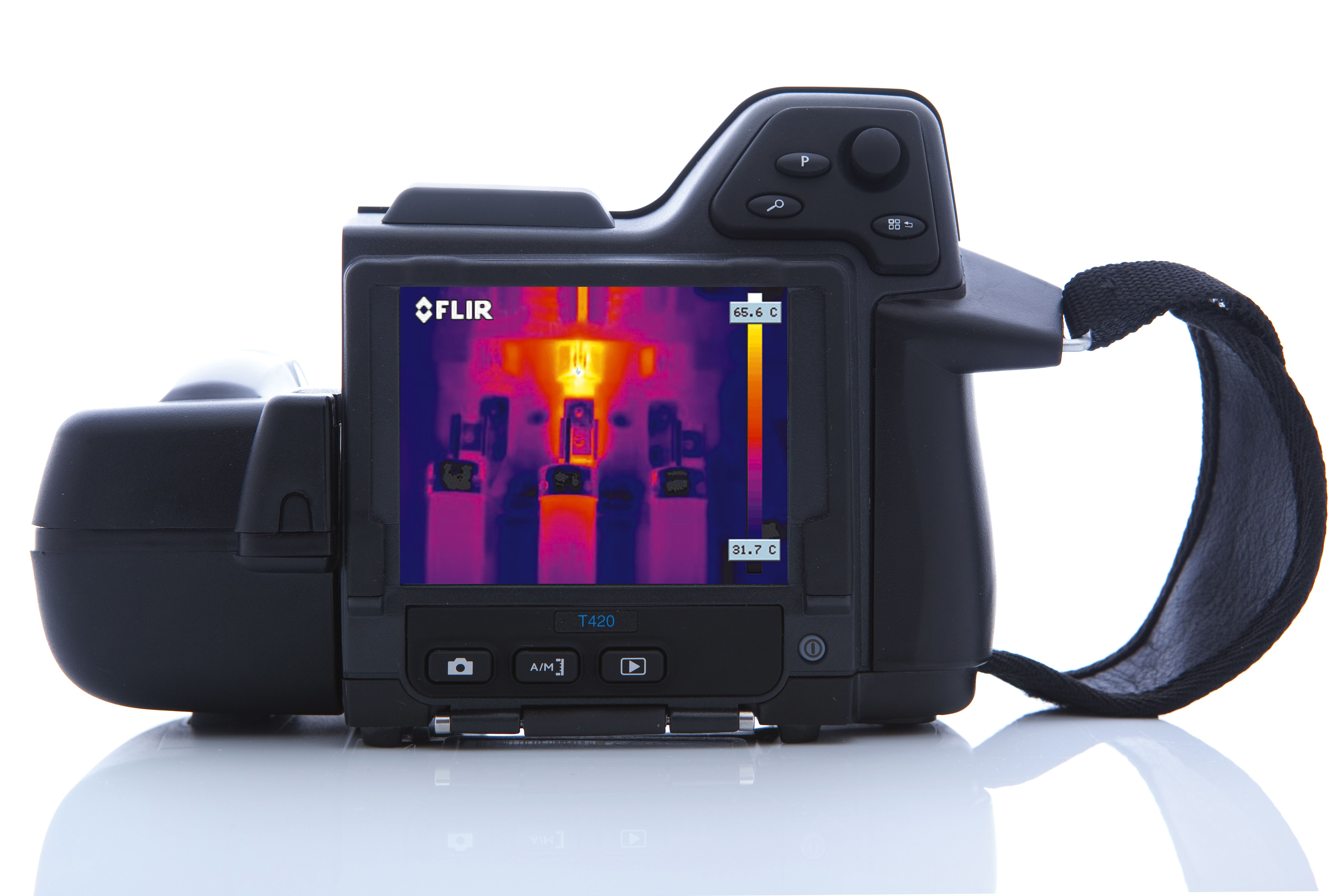 Flir T420bx T 420 bx Thermal Imaging Infrared Camera