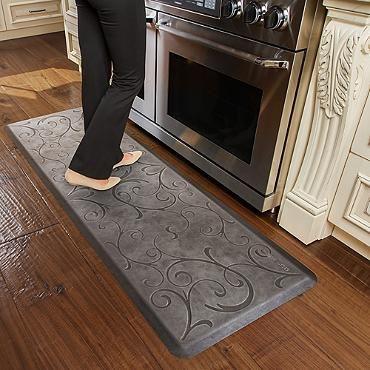 Wellnessmats Estate Collection Bella Comfort Mat Anti Fatigue Kitchen Mats Kitchen Comfort Mat Kitchen Mat