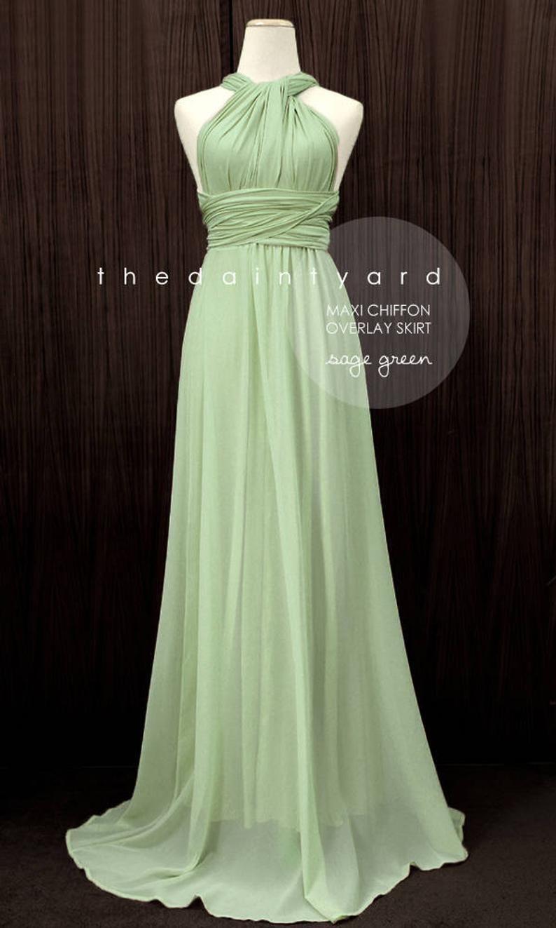 Infinity Bridesmaid Dress, Bridal Party Dress, Multiway
