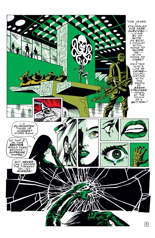 Captain america 113 marvel comics may 1969 art by