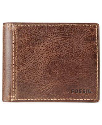 e613c8d83261 Fossil Wallet, Bradley Bifold Wallet - Men's Wallets - Men - Macy's ...