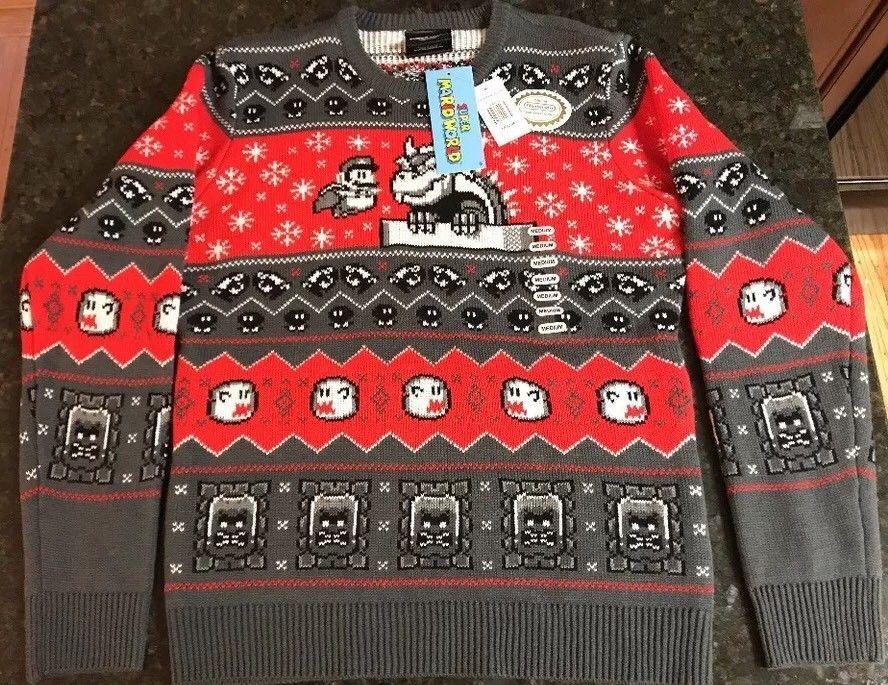 Super Mario World Christmas.Pin On Holiday Christmas Clothes