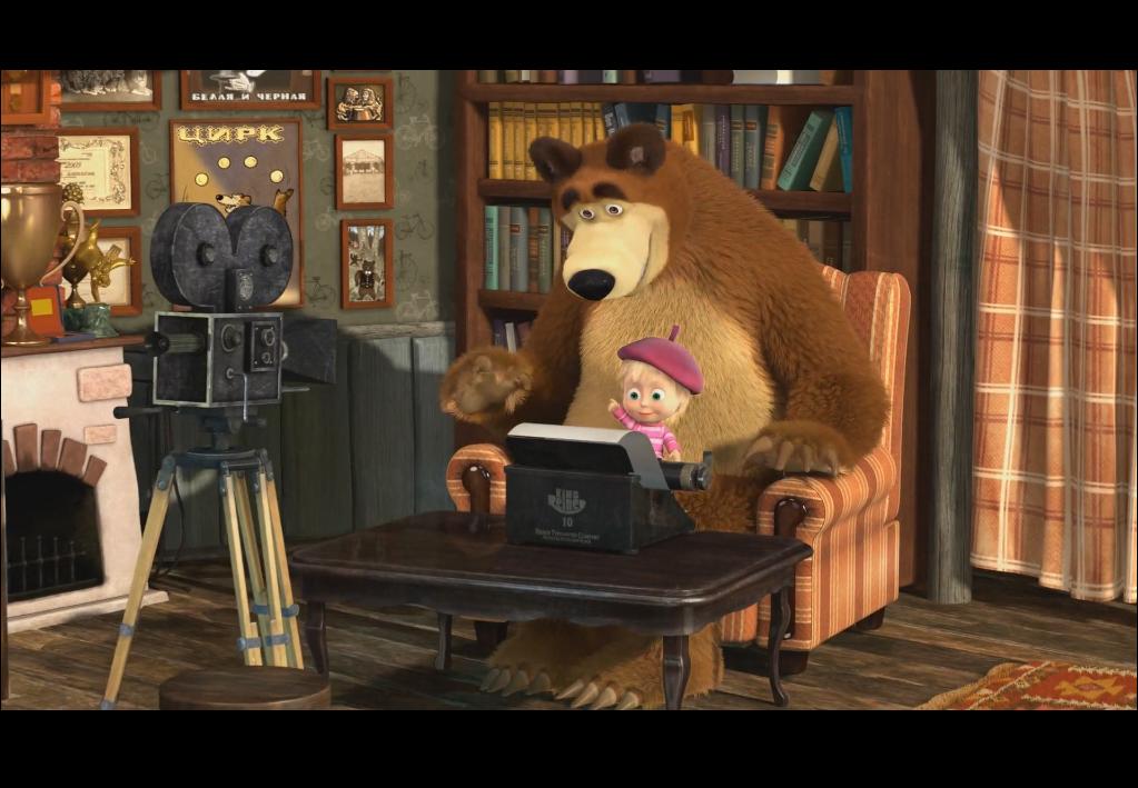Download Film Serial Tv Dan Movies Masha And The Bear Bear Peppa Pig