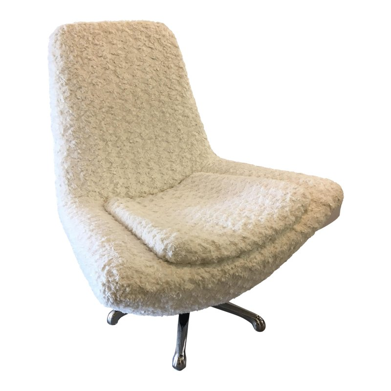 Wondrous Mid Century Modern Milo Baughman James Bond Swivel Lounge Forskolin Free Trial Chair Design Images Forskolin Free Trialorg
