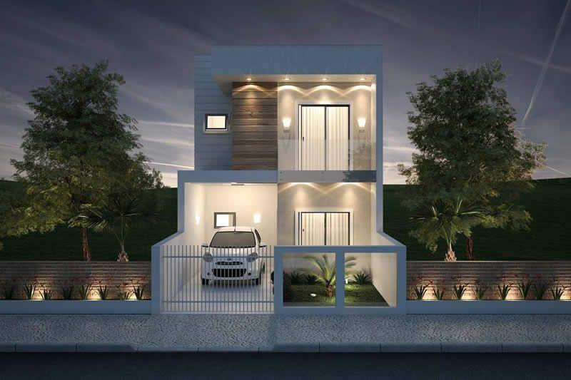 Plano de casa peque a y moderna decoracion pinterest for Decoracion moderna de apartamentos pequenos