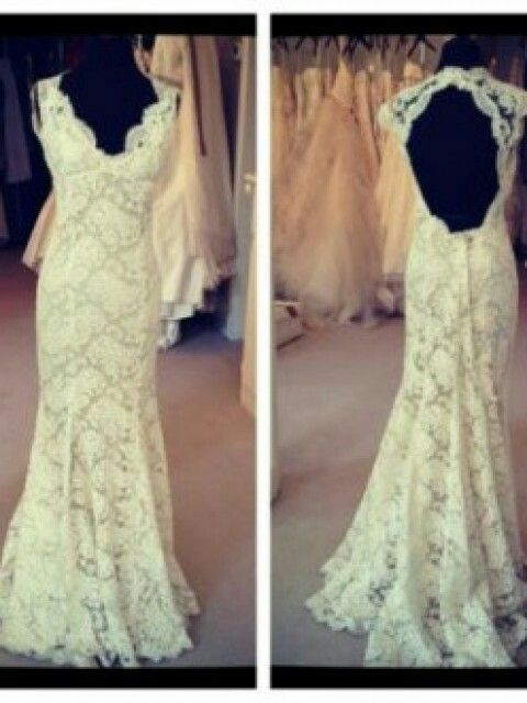 Love the lace and open back, The Scarlet, by Monique ...