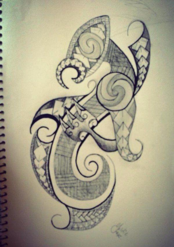 manaia maori style tattoo tattoos pinterest maori tattoo and maori tattoos. Black Bedroom Furniture Sets. Home Design Ideas
