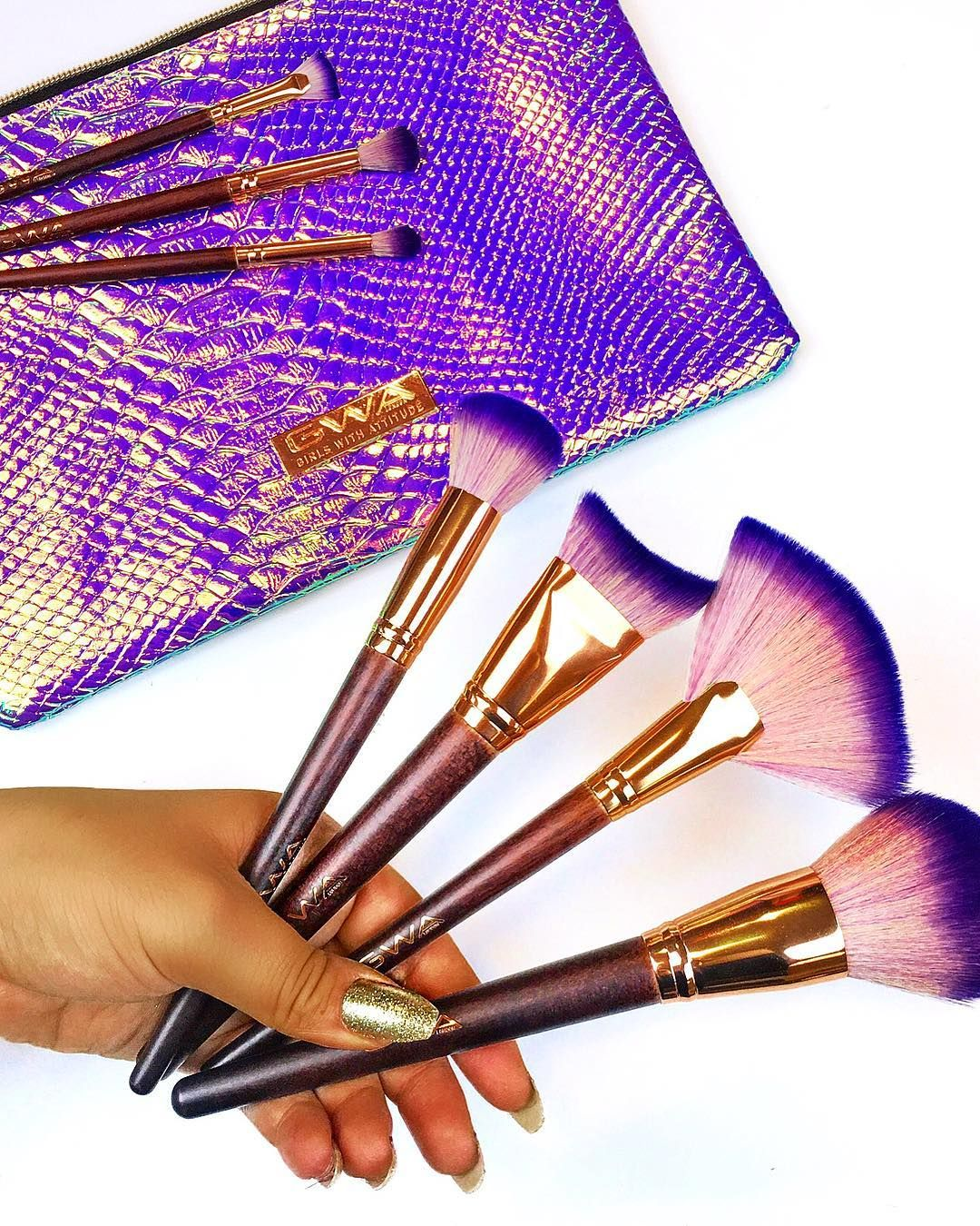 Fairytale Collection Vol. 3 17pcs Makeup Brush Set With