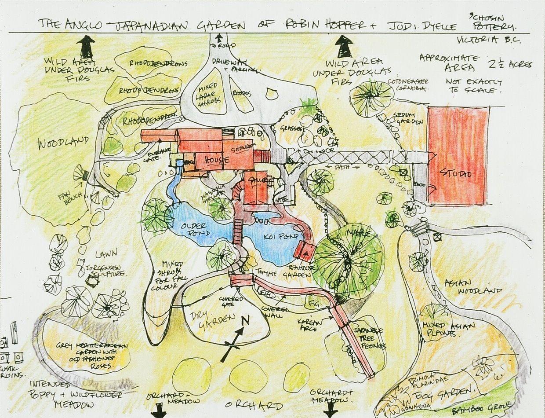 Japanese Zen Gardens Plan garden plan Zen garden
