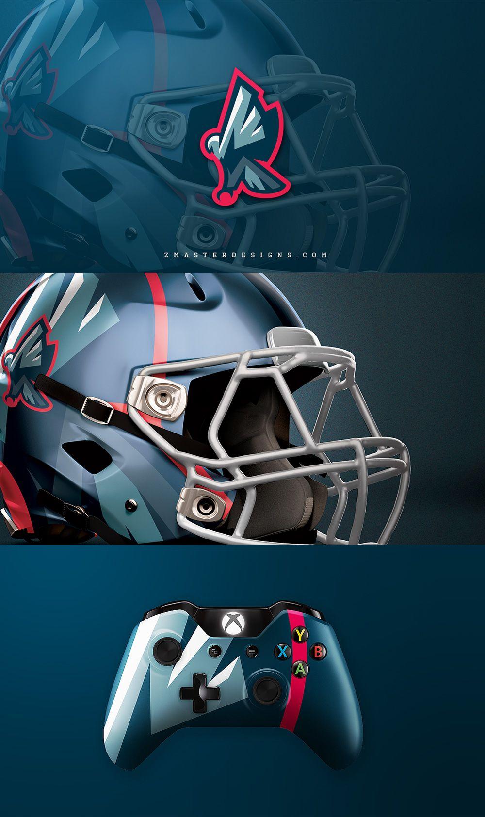 55 Amazing American Football Team Logos And Identity Designs
