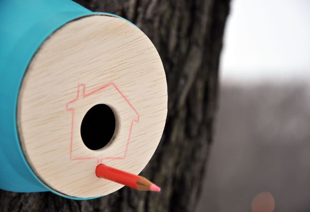 winter home for the birds from Imagine Childhood