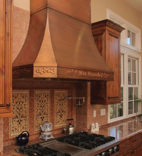 Copper range hoods custom made for you | Home of My Dreams ...