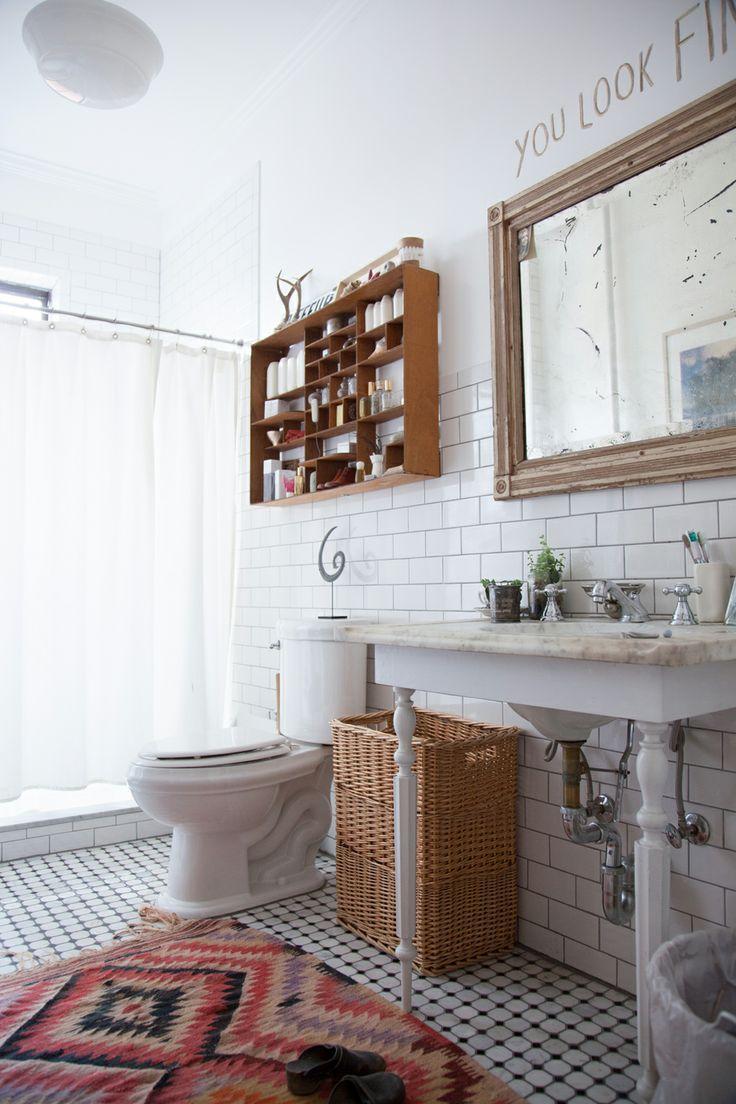 badkamer met kleed - HOME ||| HOME | Pinterest - Hipster appartement ...