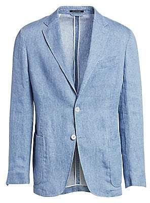 e00aba270 Ermenegildo Zegna Men's Washed Wool Denim Blazer in 2019 | Products ...