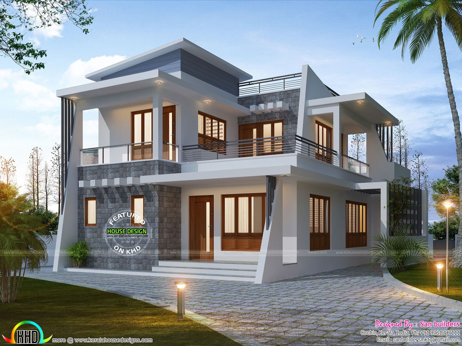 January 2017 Kerala Home Design And Floor Plans Building Elevation