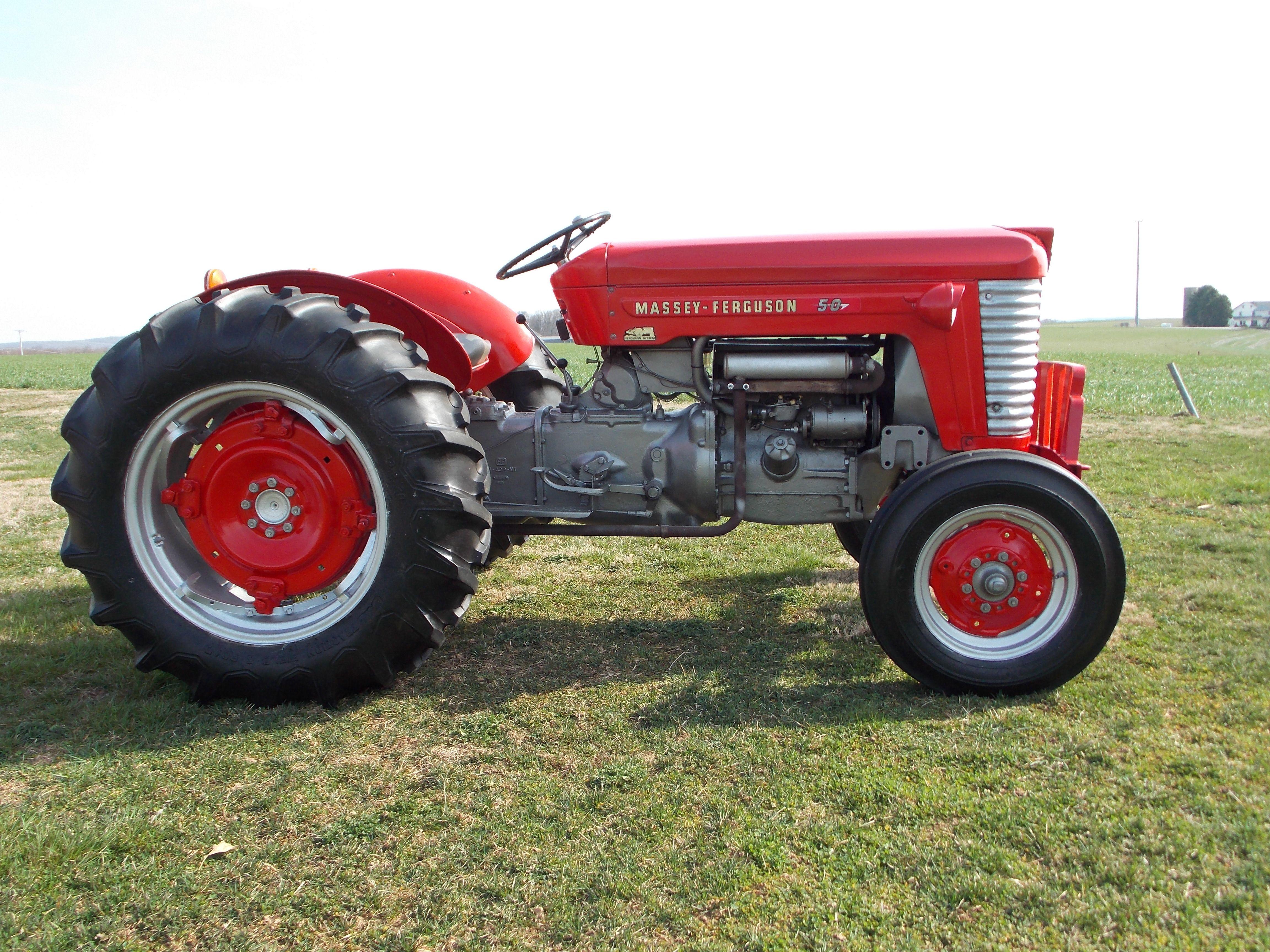 1956 Massey Ferguson 50