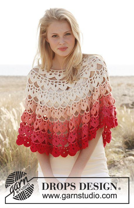 10 + Summer Poncho Free Crochet Patterns | Poncho de ganchillo ...