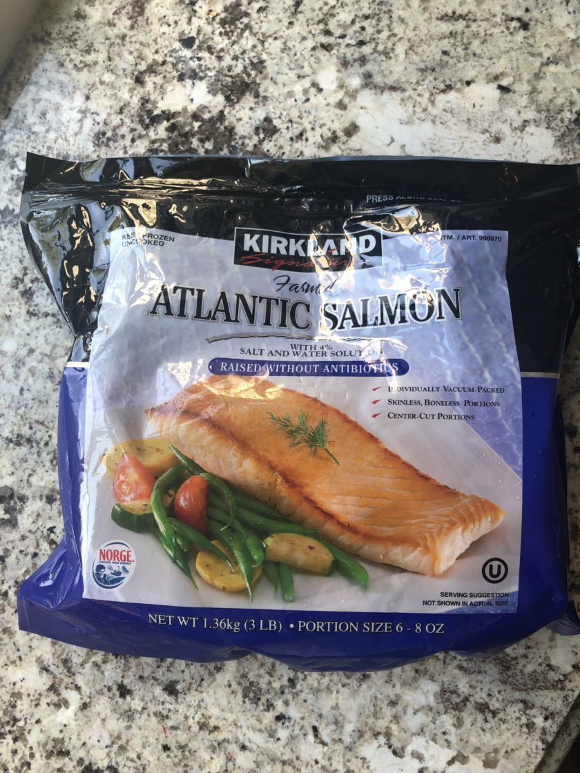 Costco Part Two Costco Salmon Frozen Seafood Frozen Salmon