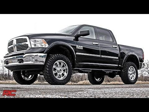 2017 Ram Trucks 3 Inch Bolt On Suspension Lift Kit By Rough Country You