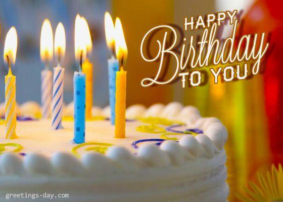 Happy Birthday - Free Online Ecards, Wishes & Pics. - http ...