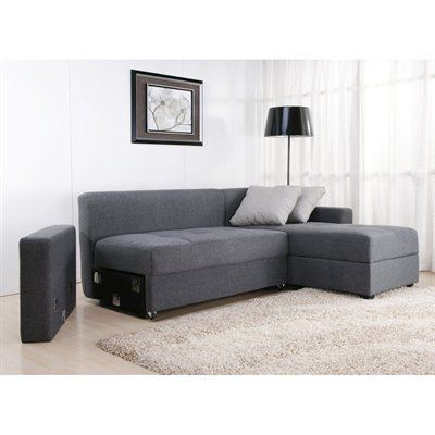 Ikea schlafcouch friheten  DHP Sutton Convertible Sectional Sofa - an alternative to Friheten ...