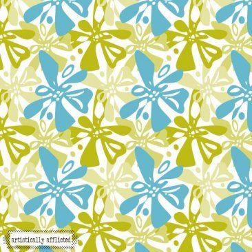 Tangled Teal-julie hamilton designs