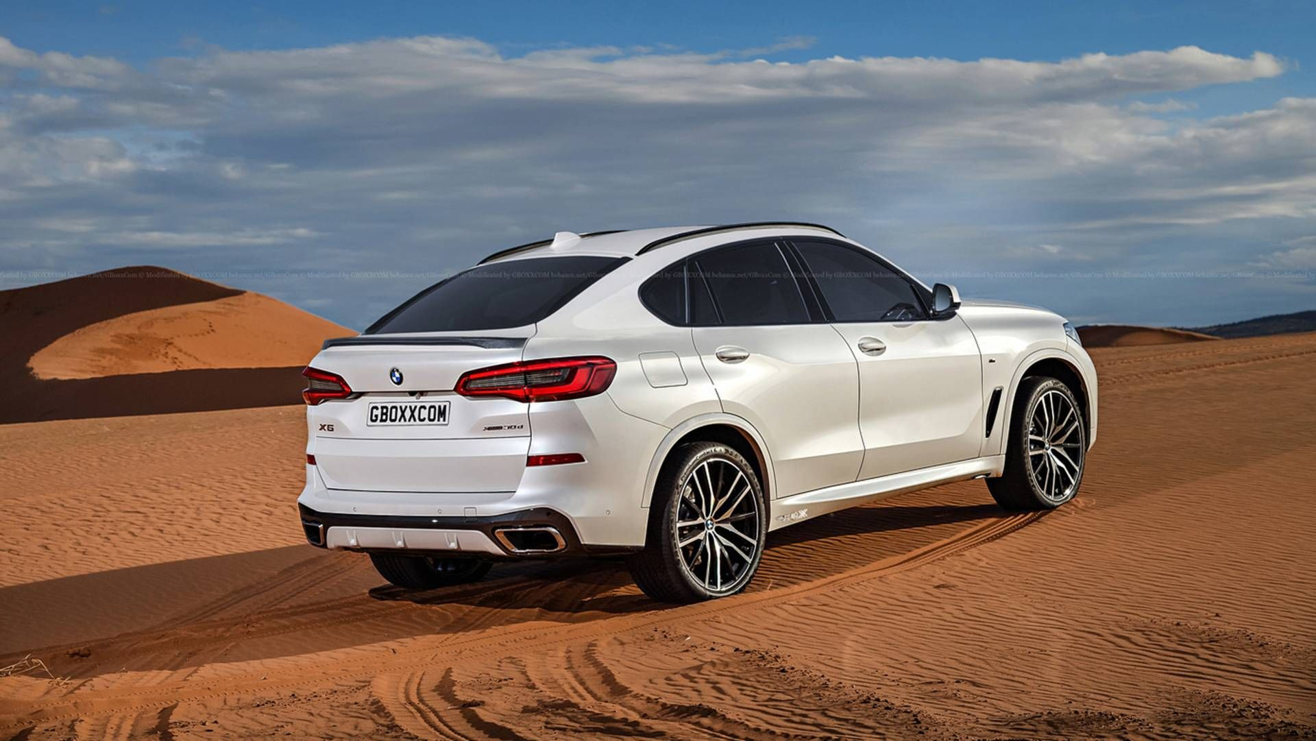 Upcoming Bmw X6 Easily Rendered From The New X5 Shots With Images