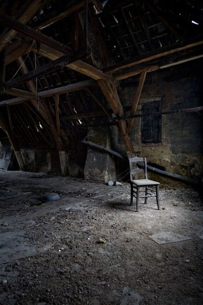 Attic Seat Opacity In 2019 Abandoned Places Abandoned