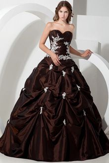 New Get stunning stylish and amazing costume ball gowns from our new arrival at very reasonable Brown Party DressesBrown Wedding