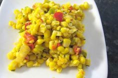 Skillet Corn Medley With Peppers and Onions: Skillet Corn with Peppers and…