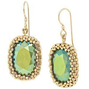 Illumination Earrings   Fusion Beads Inspiration Gallery...free tut