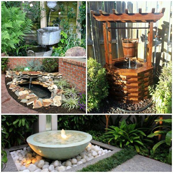 Brunnen Als Dekoidee Für Den Garten