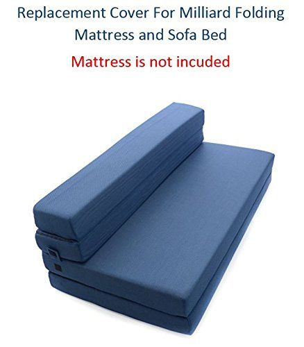 Fine Replacement Cover For Milliard Tri Fold Mattress And Sofa Pdpeps Interior Chair Design Pdpepsorg