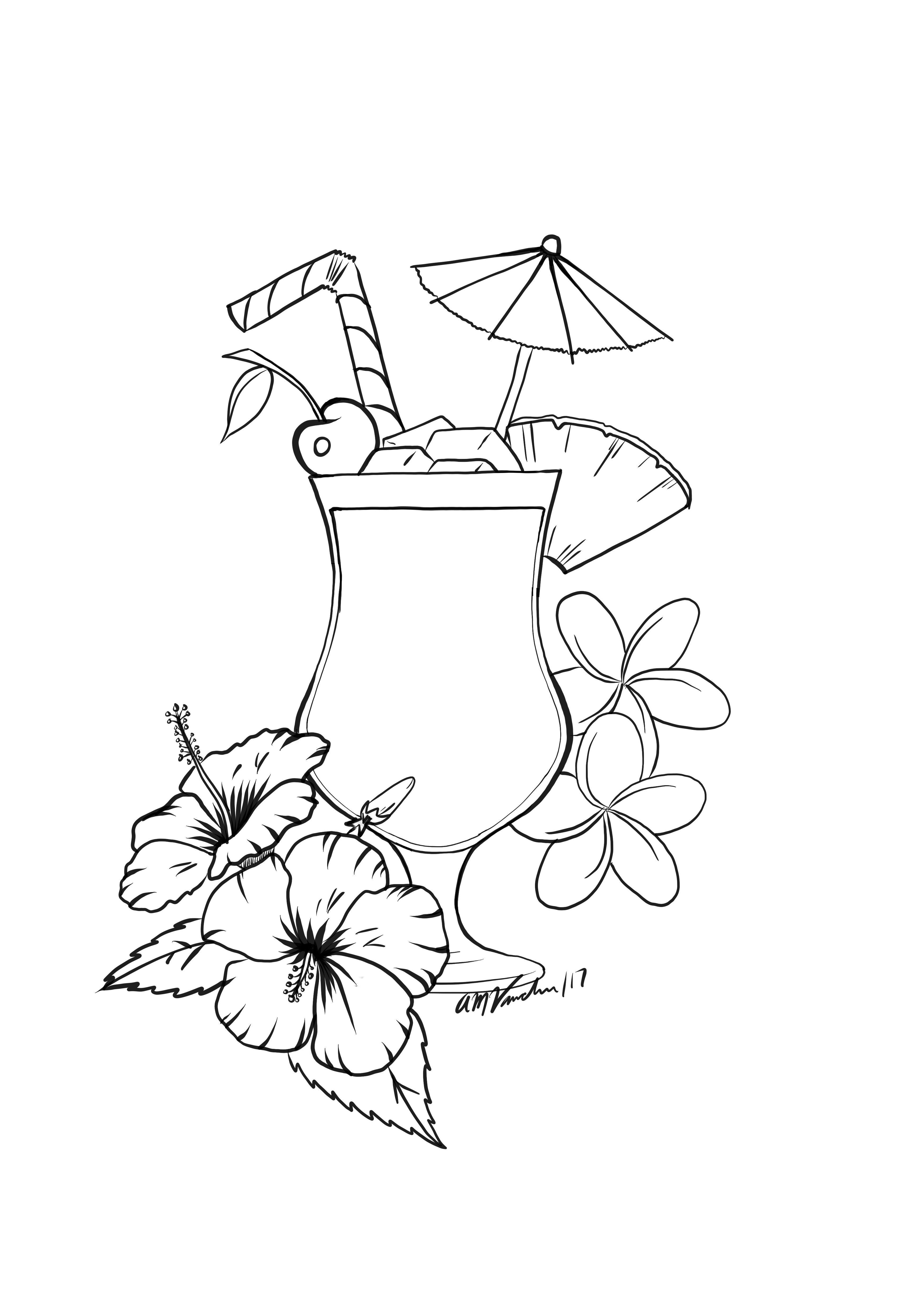 Pina Colada Tattoo Idea Inspired By Cuba With Images Tattoos