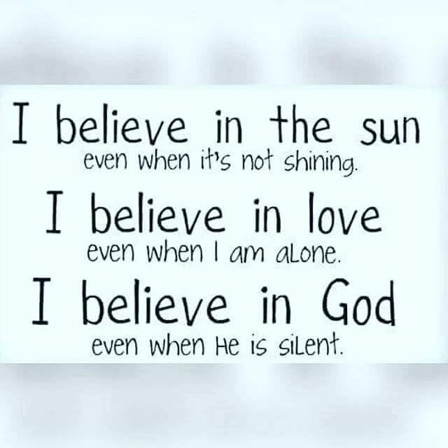 I Believe Too Sunday God Vader