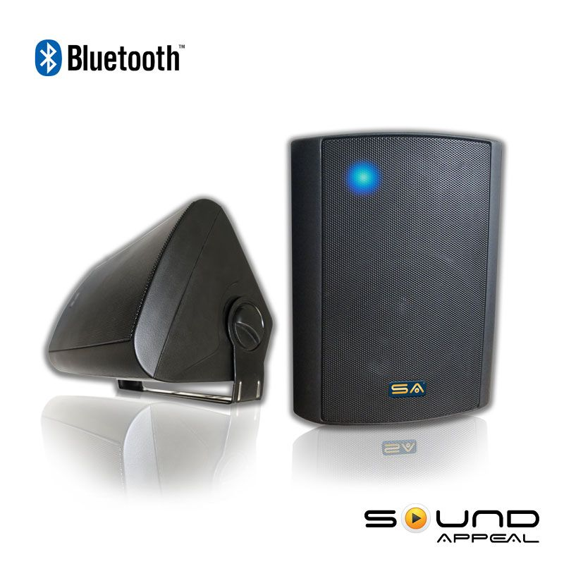 Bluetooth Outdoor Speaker With Long Range Audio Grade Technology SA BLAST6 BL By Sound Appeal Free Shipping
