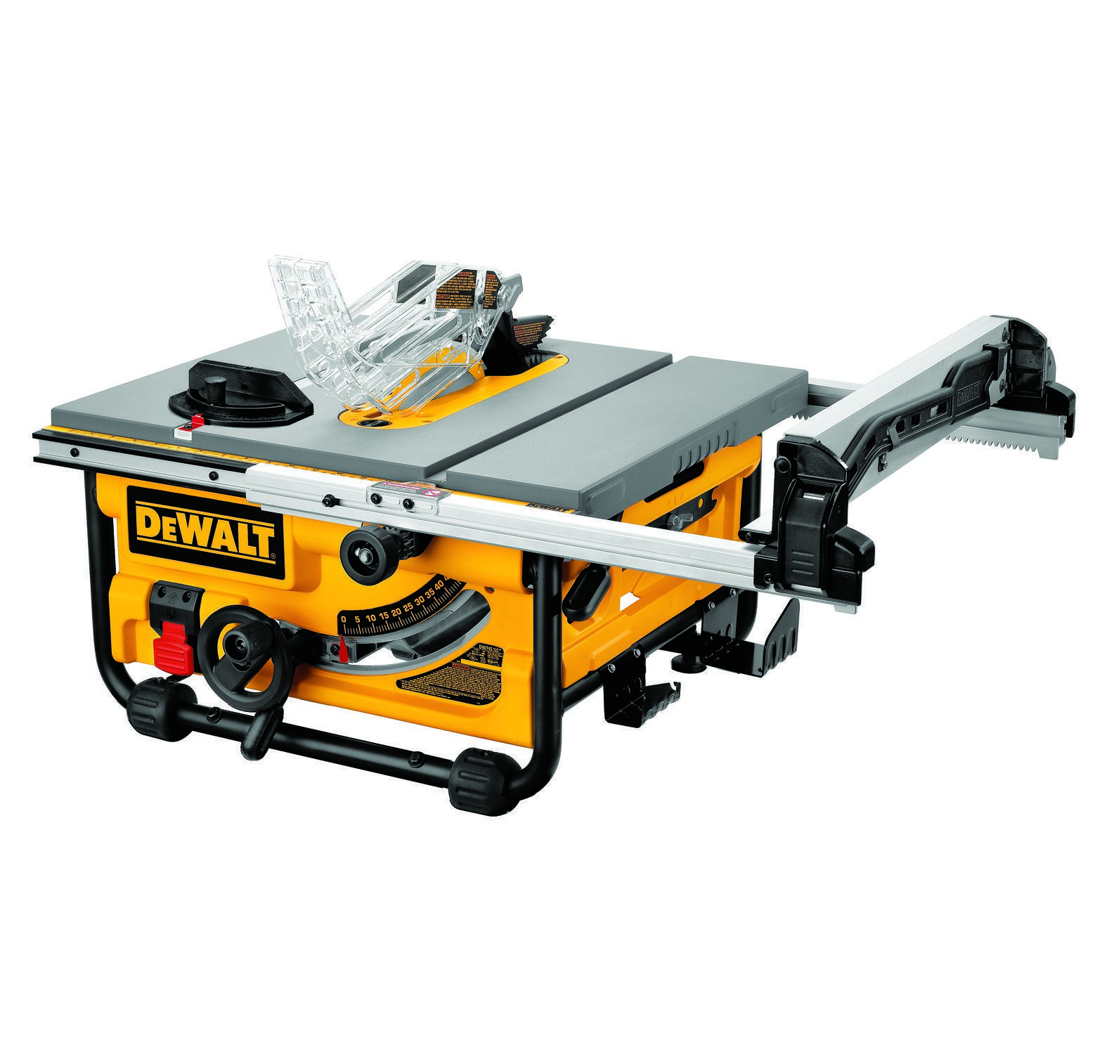 Murdoch S Dewalt 10 Compact Job Site Table Saw With Site Pro Modular Guarding System Dw745 Compa In 2020 Best Table Saw 10 Inch Table Saw Jobsite Table Saw
