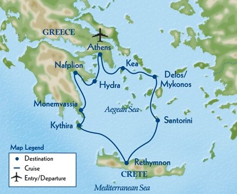 Map of Greece Ancient greece Pinterest Greek isles Crete and