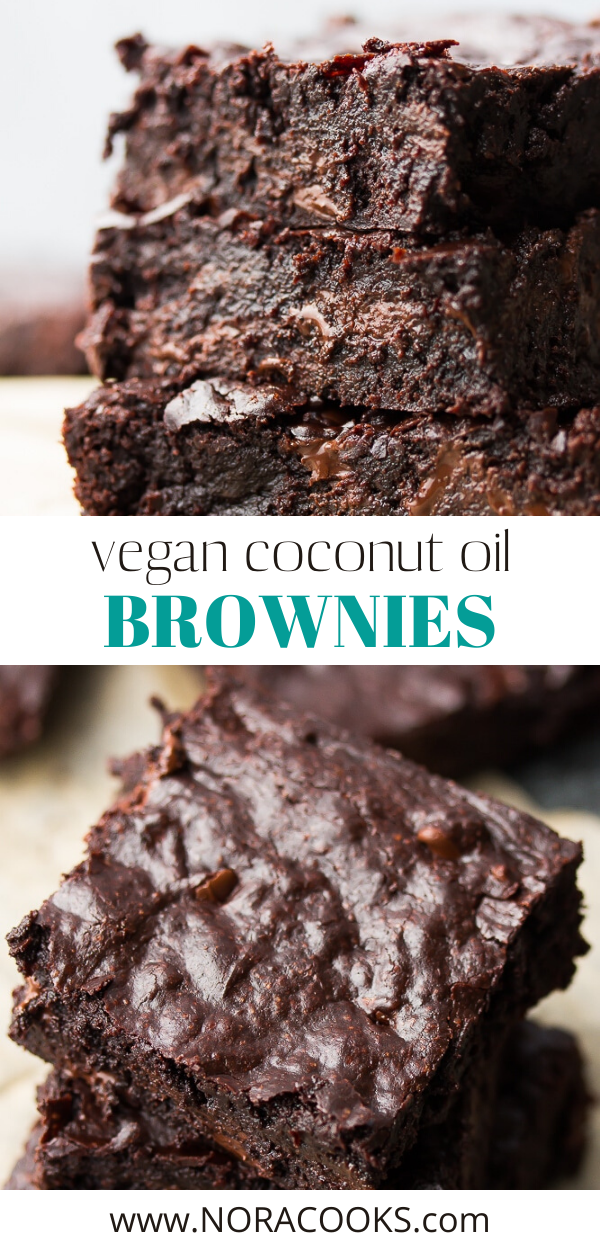 Coconut Oil Brownies Nora Cooks Coconut Oil Dessert Recipes Coconut Oil Brownies Brownie Recipes Healthy