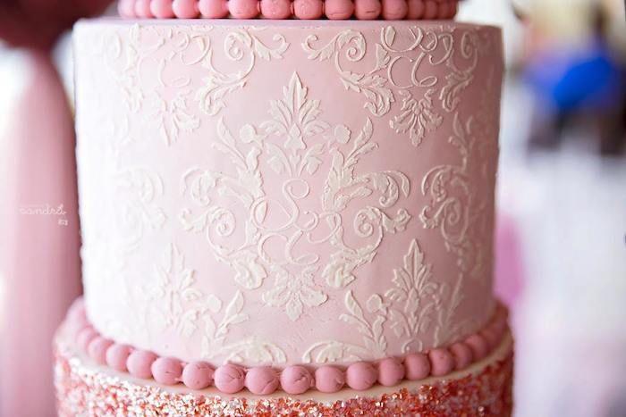 Pink Floral Princess birthday party via Kara's Party Ideas KarasPartyIdeas.com Cake, decor, favors, supplies, desserts, food, invitation, tutorials, and more! #princessparty #princessbirthdayparty #floralprincess #floralprincessparty (33)