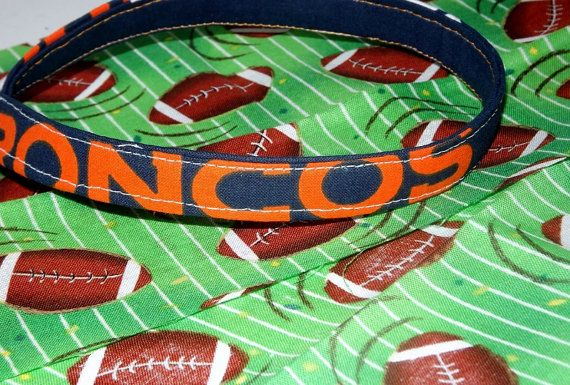 Denver Broncos Dog collar by JakesK9BakeryPlus on Etsy, $16.99