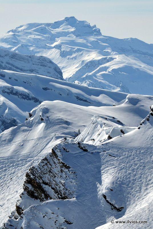 Peaks of French Alps - Porte du Soleil, France