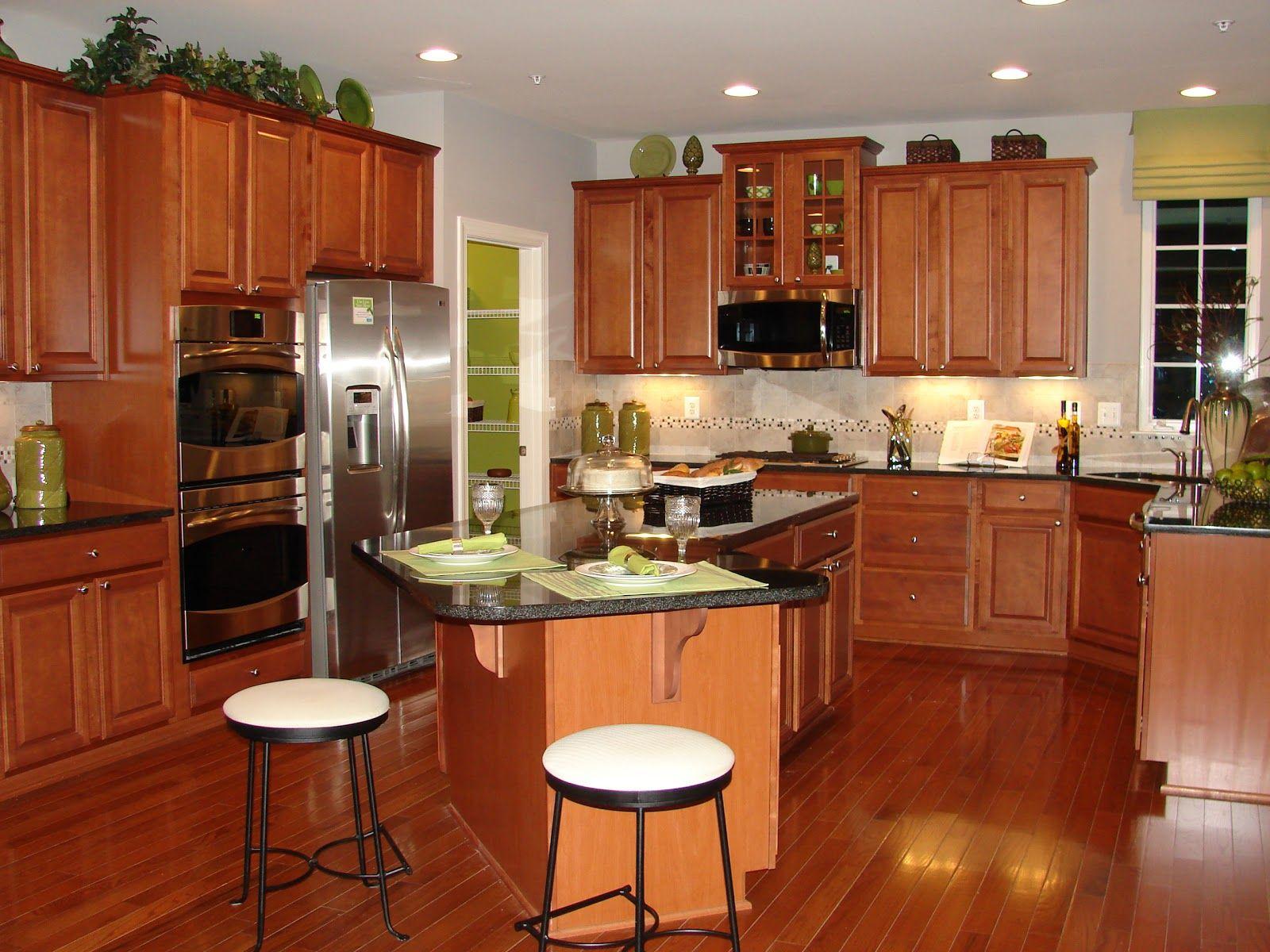 Ryan Homes Cognac Kitchen Cabinets - Avalon Model