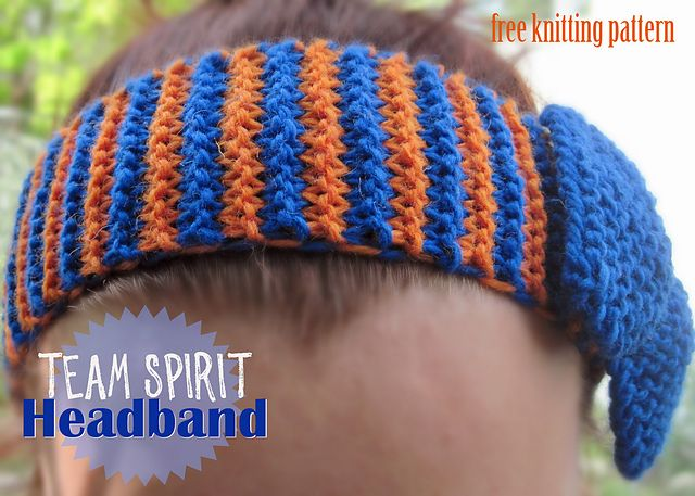 Knitting patterns galore team spirit headband sewing knitting knitting patterns galore team spirit headband dt1010fo