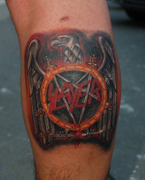 slayer tattoos google search tattoos pinterest slayer tattoo tattoo and tattoo designs. Black Bedroom Furniture Sets. Home Design Ideas